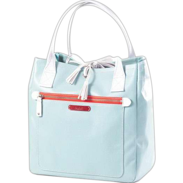 Carina - Coated Canvas Tassel Tote Bag Photo