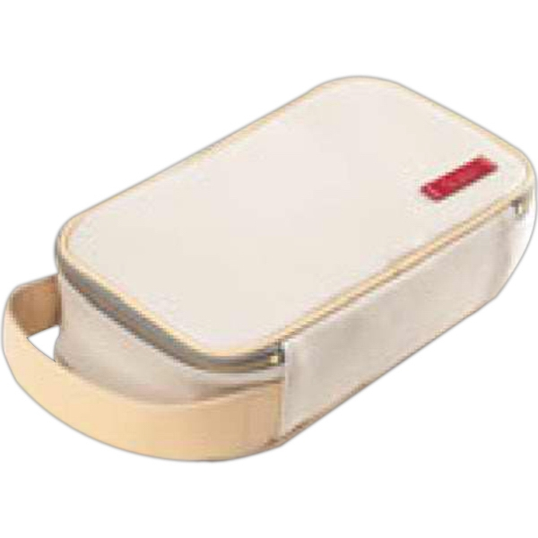 Carina - Large Coated Canvas Cosmetic/toiletry Case Photo