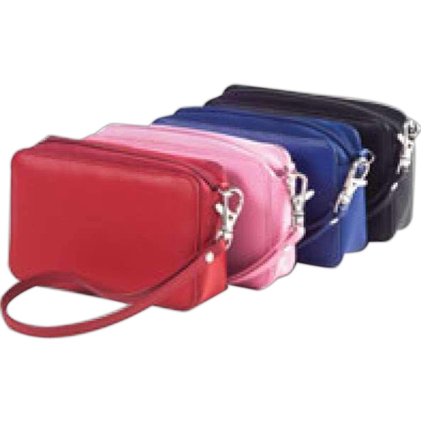 Clava(r) - Rectangular Case Perfect For Small Camera, Makeup, Money Or As A Small Wristlet Photo
