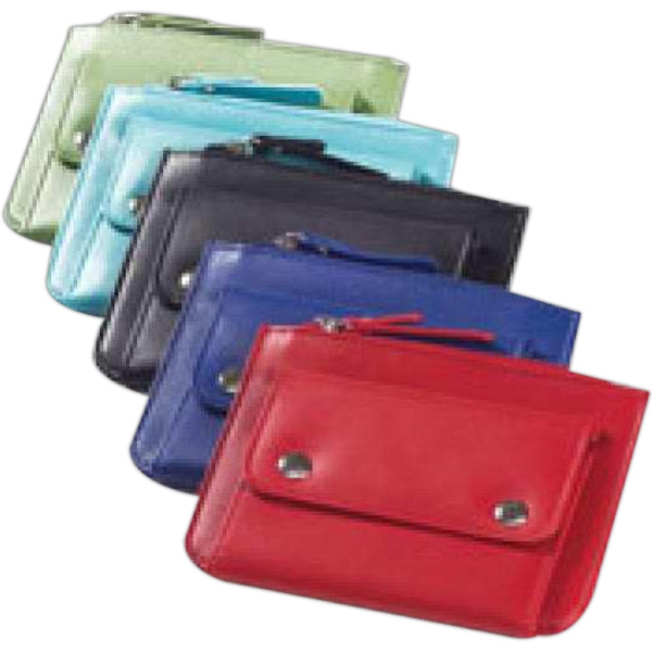 Clava(r) - Slim Wallet Organized Id, Credit Cards, Coins And Cash With 2 Card Slots Photo
