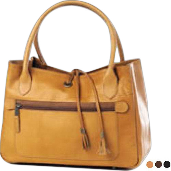 Clava(r) - Attractive Handbag With Removable Interior Pouch And Roomy Exterior Zip Pocket Photo