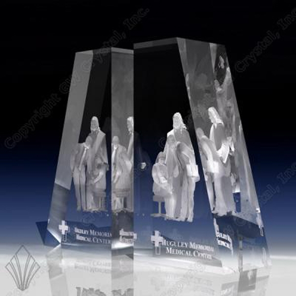 Crystal Book Ends