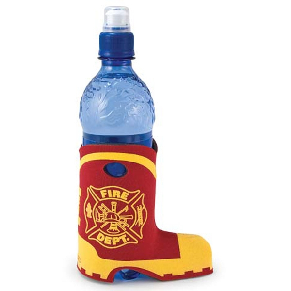 Boot Coolie (tm) - Bottle Insulator With Boot Design Photo