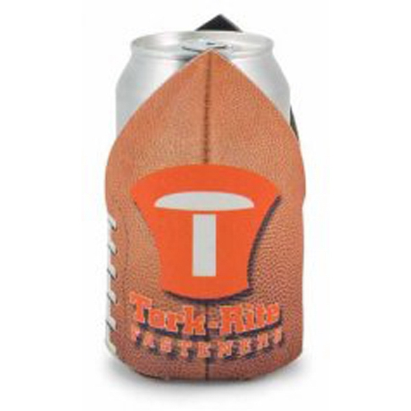 Action Coolie (tm) - Football Shaped Can Insulator Photo