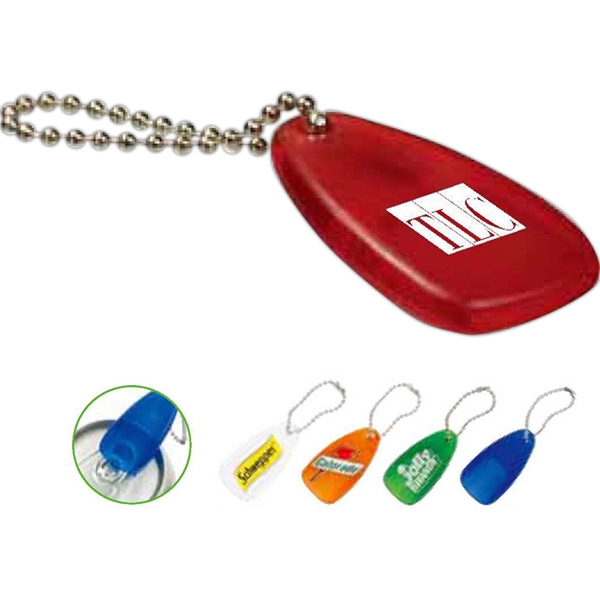 Mini Tab Plastic Can Opener With Key Chain Photo