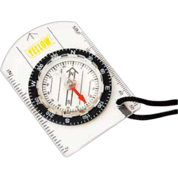 Map Reading Compass With Neck Strap Photo