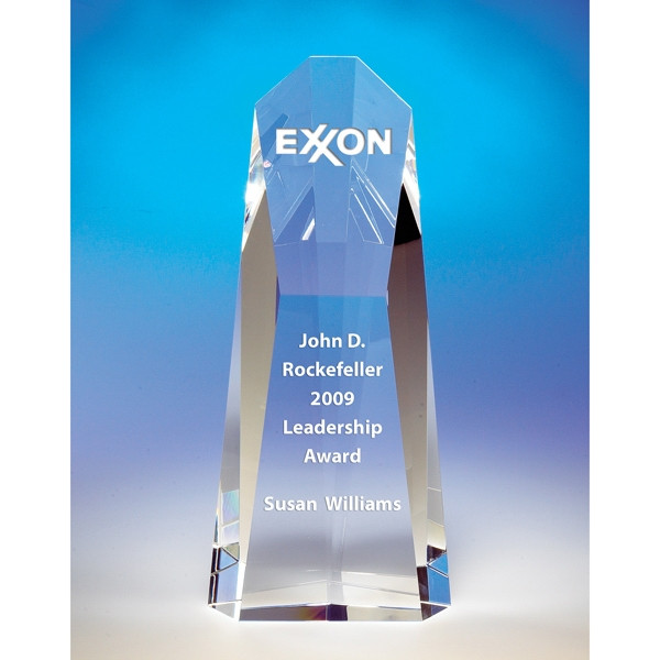 Pioneer - Pioneer Crystal Award By Crystal World Photo