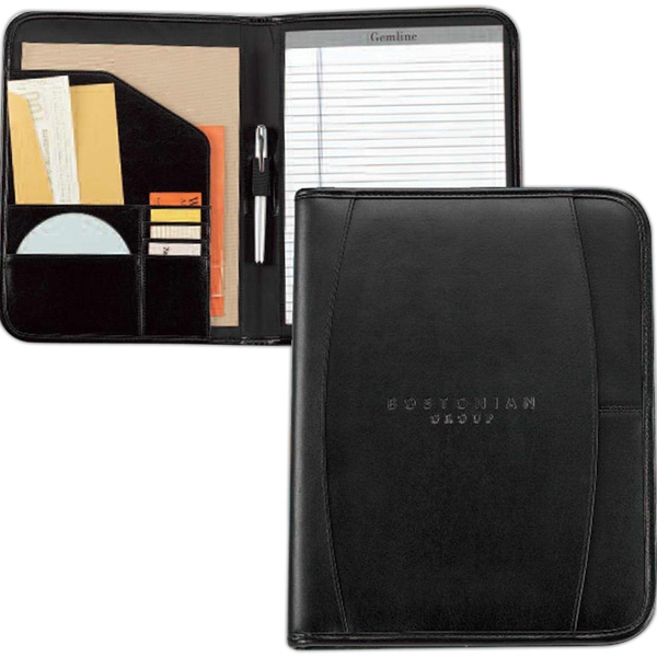 Contemporary - Leather Writing Pad With Multi-function Organizer Photo