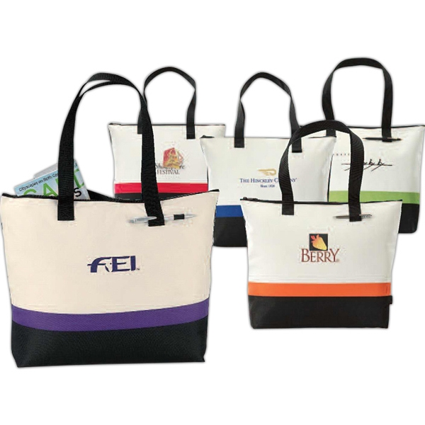 Regatta - Purple - Race Tote Bag With Zippered Closure And Interior Organizer Photo