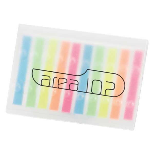 Booklet Of Highlighter Flag Strips In Assorted Colors Photo