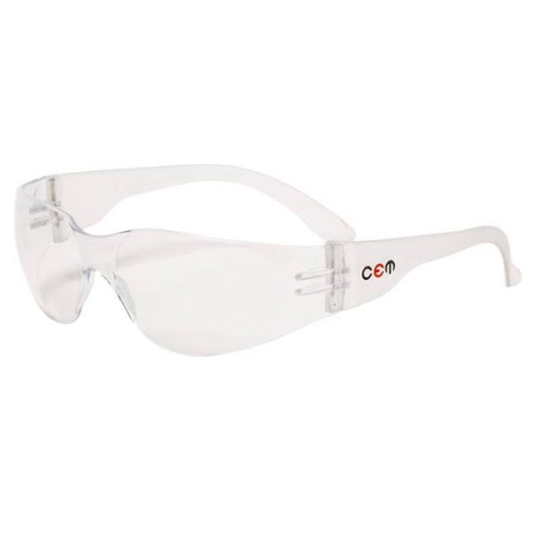 Monteray - Clear Lens - Safety Glasses With Single Curved Lens Design Photo