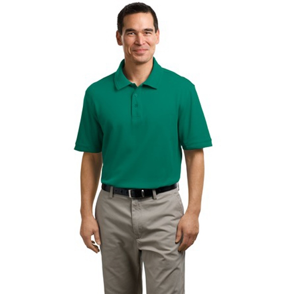 Port Authority (r) -  X S- X L Colors - Adult Performance Waffle Mesh Polo Shirt, Soft Texture, Flat Knit Photo