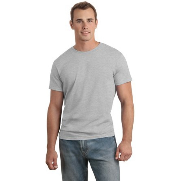 Hanes (r) Nano-t (r) - 2 X L White - Men's Ring Spun Cotton T-shirt, 4.5 Ounce Photo
