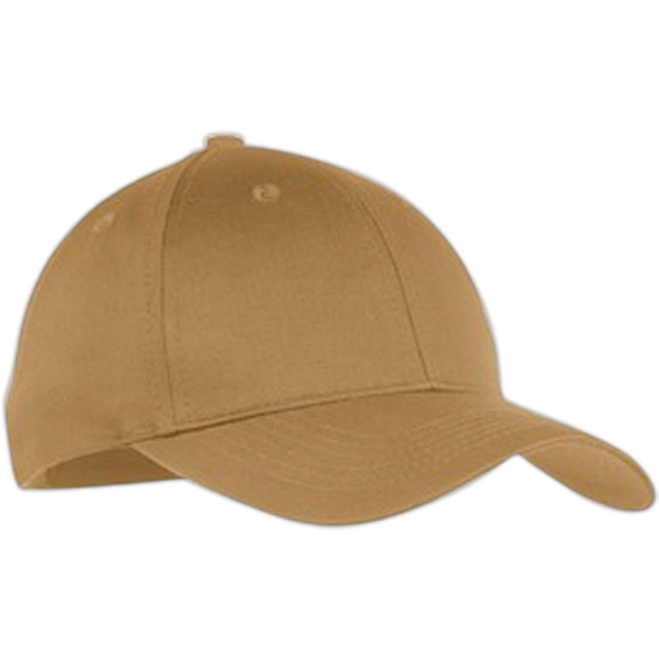Port & Company (r) - Youth Structured Twill Six Panel Cap With Mid Profile And Buckram Lining Photo