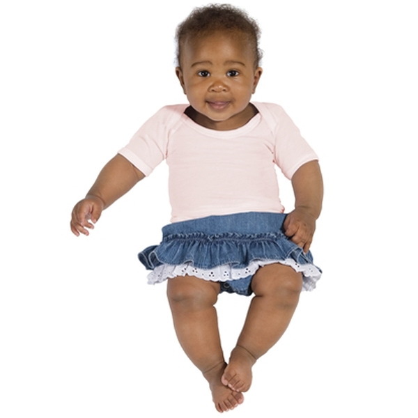 Precious Cargo (r) - Light Pink - Infant Lap Shoulder Tee Shirt, 4.1-ounce, 100% Ring Spun Combed Cotton Photo
