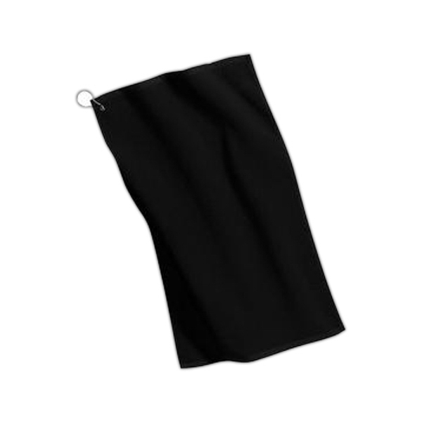 Port Authority (r) - Grommeted Microfiber Golf Towel, Poly/cotton Blend Photo