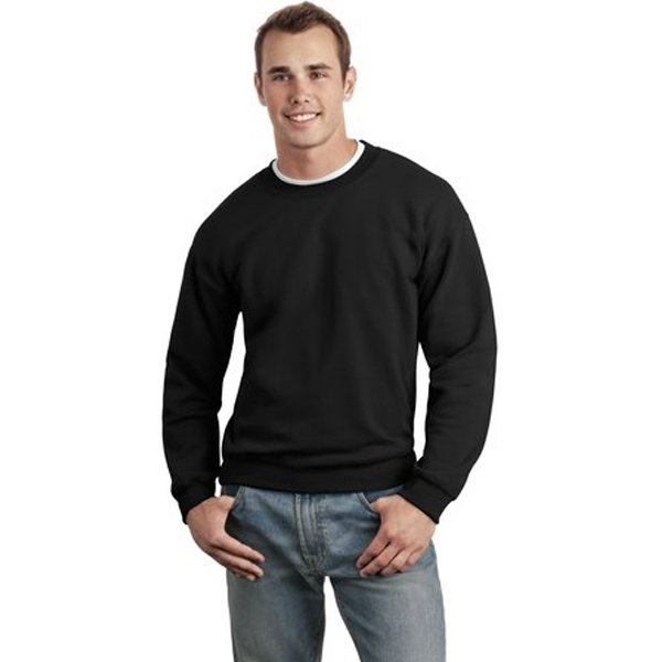 Gildan (r) - 2 X L White - Crewneck Sweatshirt, 9.3-ounce, 50 Cotton/50 Dryblend Poly; No-pill Photo