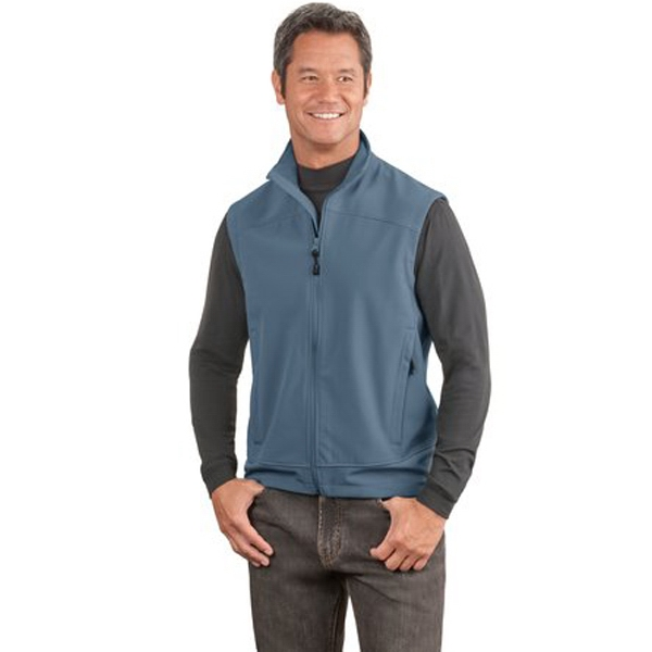Port Authority (r) Glacier (r) - 4 X L Colors - Soft Shell Vest With Front Zippered Pockets Photo