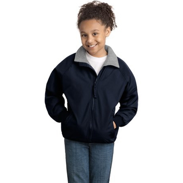 Port Authority (r) Challenger (tm) - Youth Size Teklon (r) Jacket With Poly-filled Body Photo