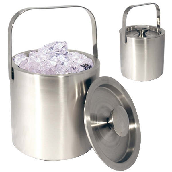 Overseas, 1300 Ml Double Wall Stainless Steel Ice Bucket Photo
