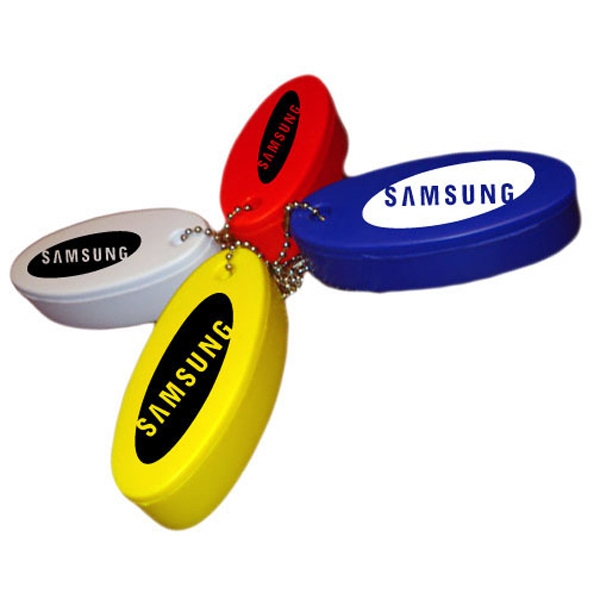 Floating Neon Fob, With Keychain Photo