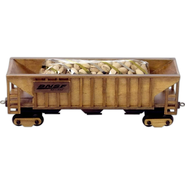 Imported Empty Wooden Collectible Train Hopper Car Photo