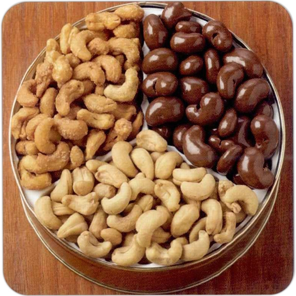 Cashew Lovers Designer Gift Tin Photo