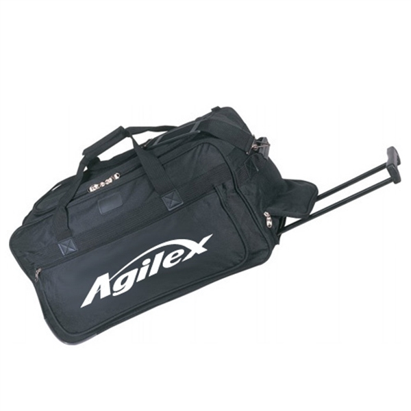 Poly Deluxe Wheel Duffel Bag