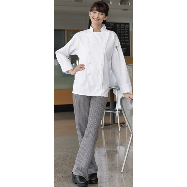 X S- X L - Women's Chef Pant. Blank Photo