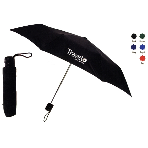 "Nylon Manual Opening Umbrella With Lightweight Frame, 8 Panels And 42"" Arc Photo"