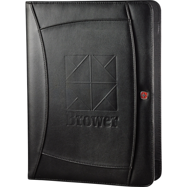 Wenger (r) - Writing Pad With Front Cover Pocket, Gusseted Document Pocket, And Pen Holders Photo