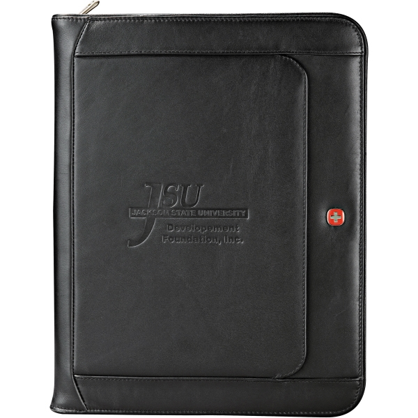 "Wenger (r) - Executive Leather Zippered Padfolio, Includes 8.5"" X 11"" Writing Pad Photo"