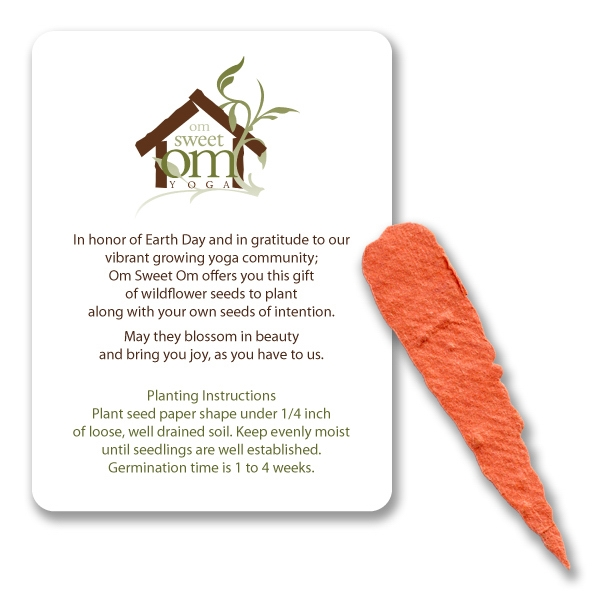 Carrot Mini Gift Pack With Seed Paper