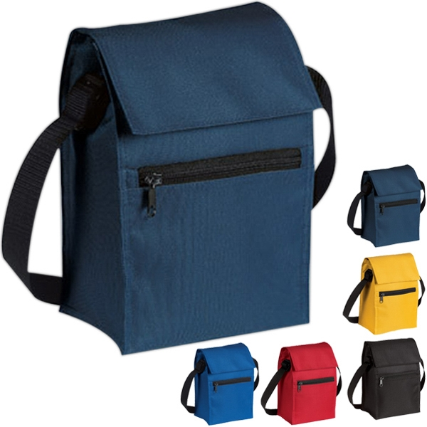 Port Authority (r) - Insulated Lunch Cooler, Heat-sealed, Waterproof Lining, Carry Strap Photo