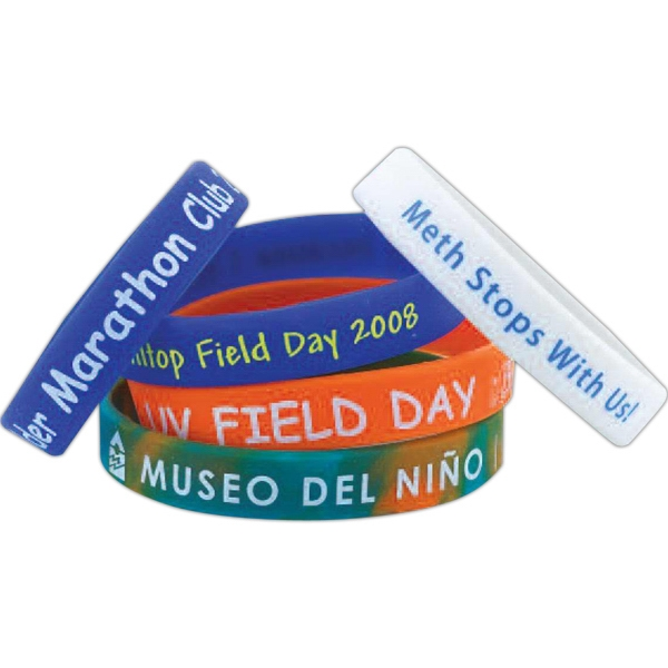 Silicone Wristband Printed