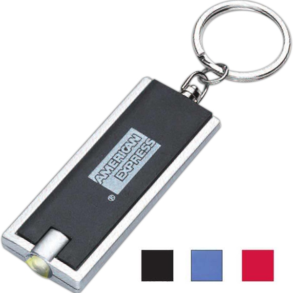 Keychain flashlight
