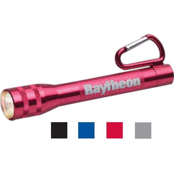 Aluminum Carabiner Flashlight