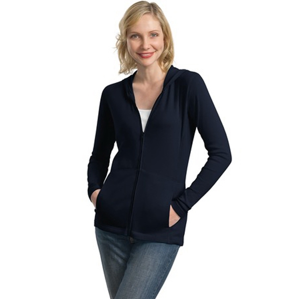 Port Authority (r) -  X S- X L - Ladies' Modern Stretch Cotton Collection Full-zip Jacket Photo