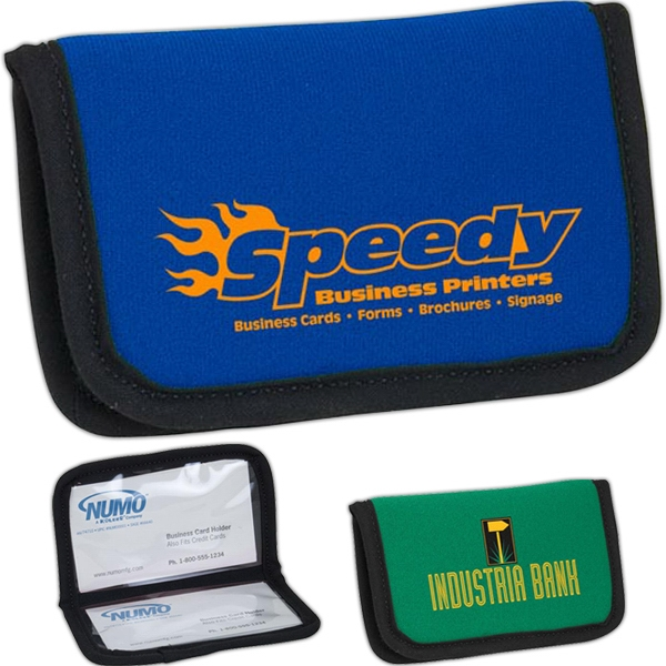 Business Card/atm Card Holder With Vinyl Pockets Photo