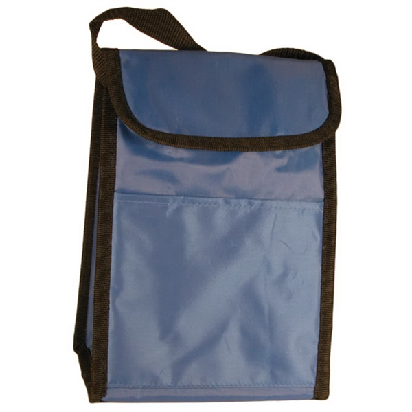"10"" Insulated Nylon Lunch Bag Photo"