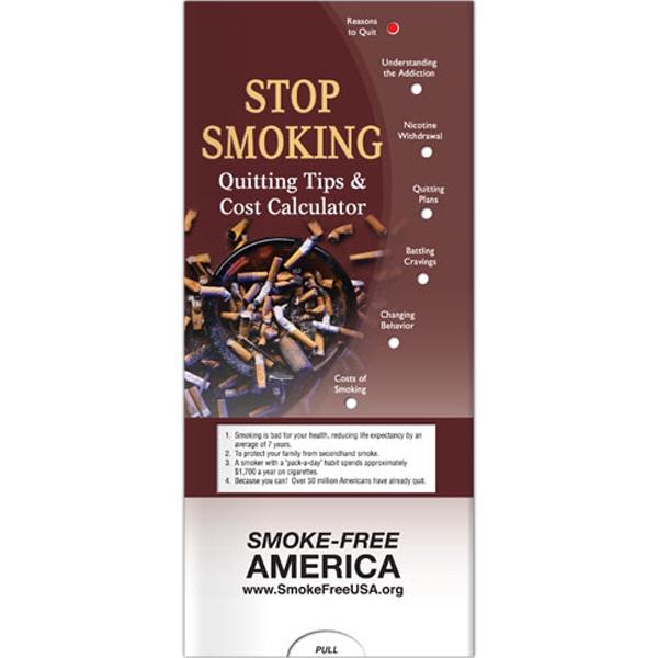 Stop Smoking - Quitting Tips Pocket Slider