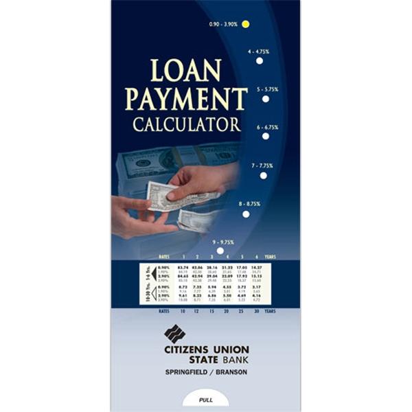 Loan Payment Calculator Pocket Slider