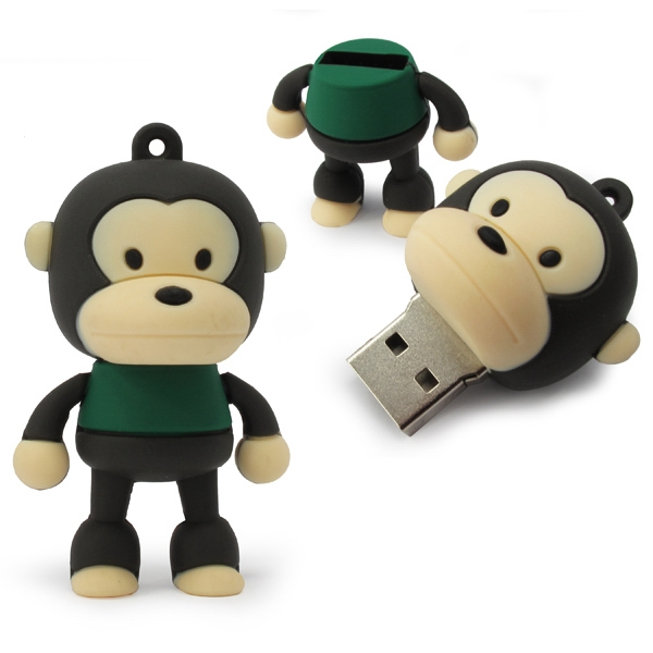 512mb - Monkey Usb Drive Photo