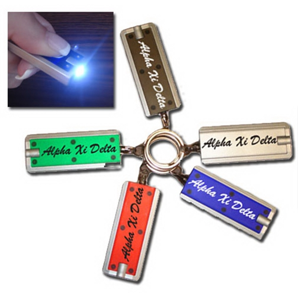 "2"" Premium Led Key Chain Photo"