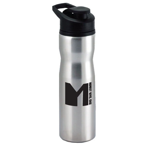 Tomcat - Silver - 28 Oz Stainless Steel Water/sports Bottle Photo
