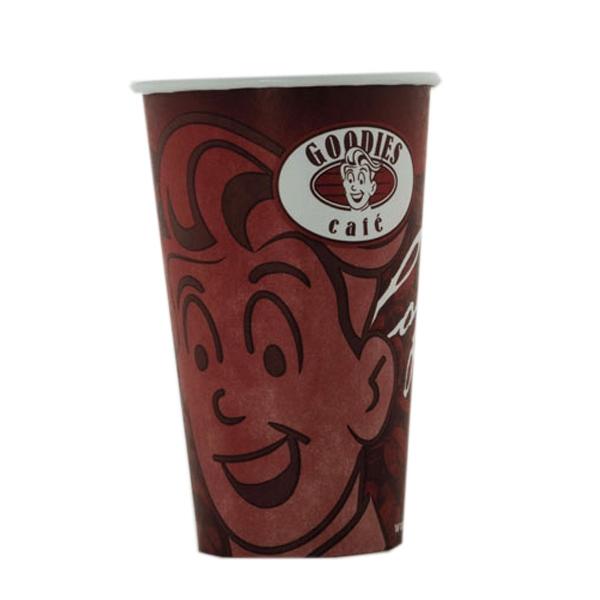 Custom imprinted paper cup