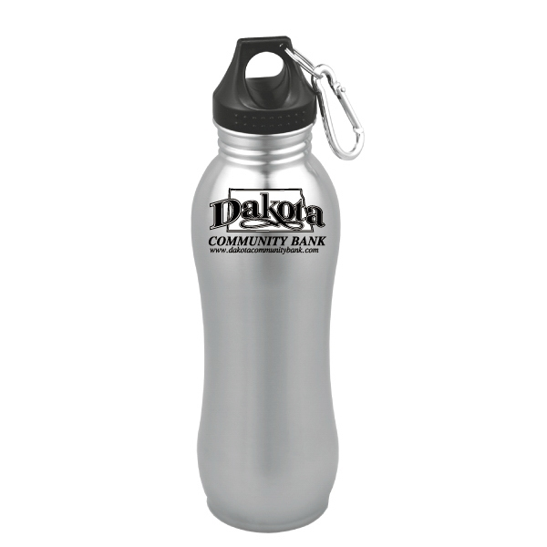 Equinox - Stainless Steel 24 Oz. Bottle With Carabiner Photo