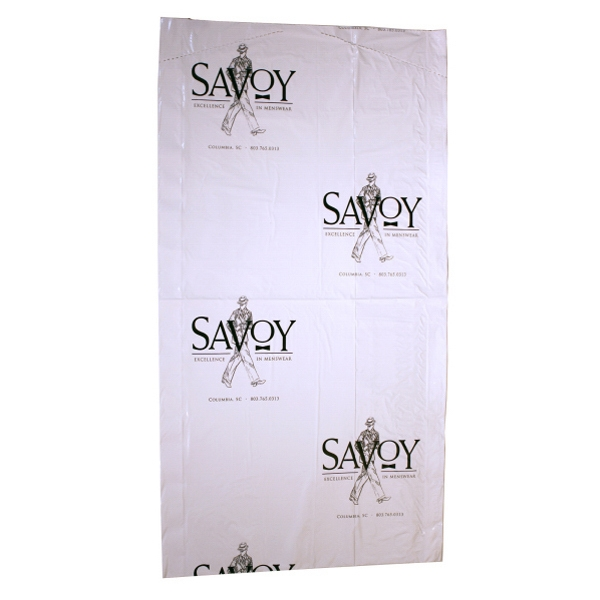 Rolled Garment Bag, White Photo