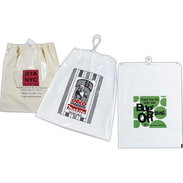 "12"" Custom Poly Draw Bag"