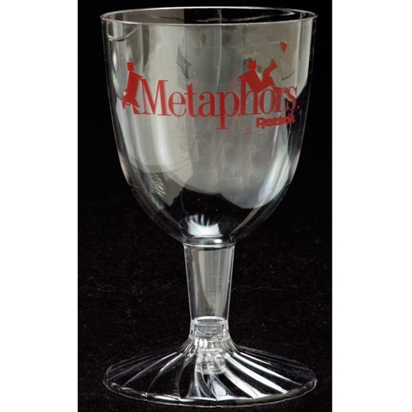 Polystyrene Wine Glass, 5 Oz Photo